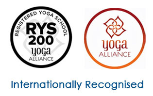 Ajarya Yoga Teacher Training Registerd with Yoga Alliance USA